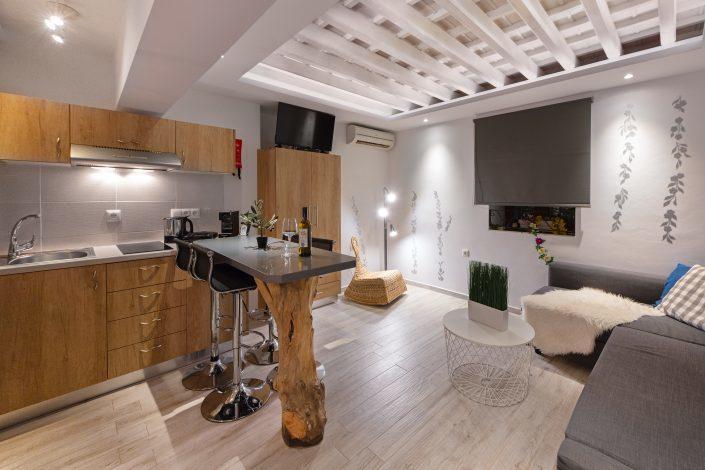 Luxury rooms Lindos